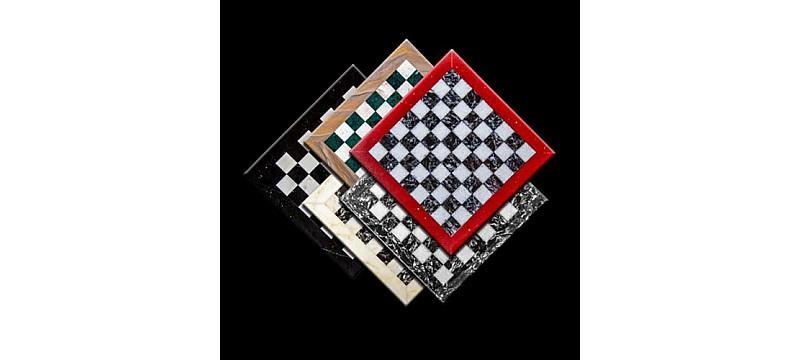 Σκακιέρες από μάρμαρο