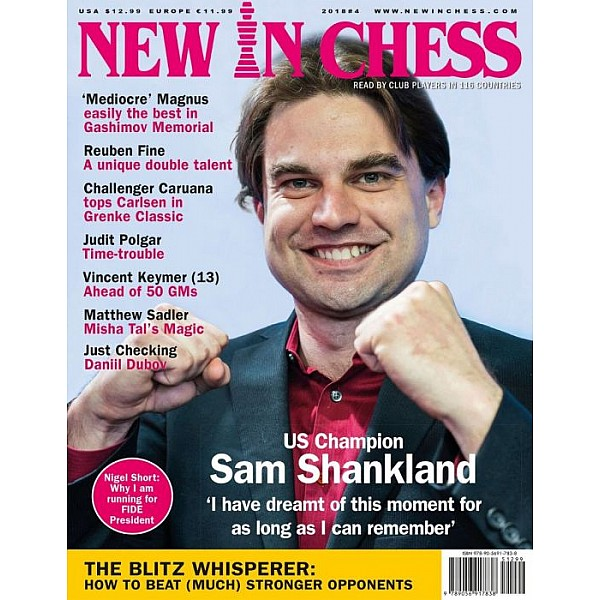 Περιοδικό New In Chess 2018/4: The Club Player's Magazine