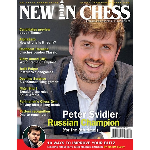 Περιοδικό New In Chess 2018/1: The Club Player's Magazine