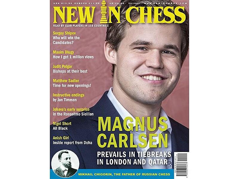 Περιοδικό New In Chess 2016/1: The Club Player's Magazine