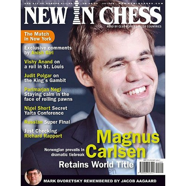 Περιοδικό New In Chess 2016/8: The Club Player's Magazine
