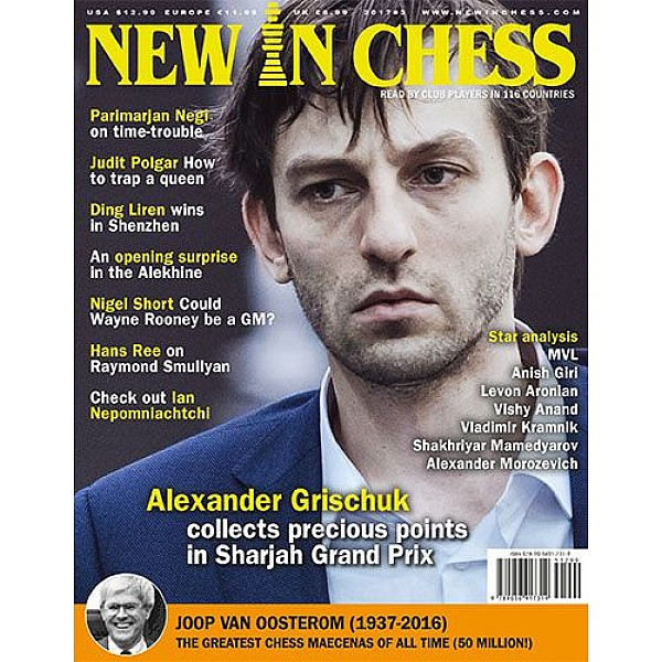 Περιοδικό New In Chess 2017/3: The Club Player's Magazine
