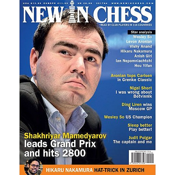 Περιοδικό New In Chess 2017/4: The Club Player's Magazine