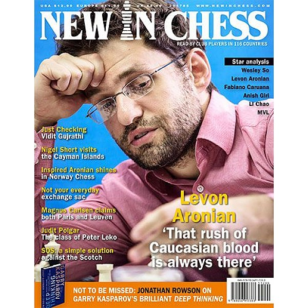 Περιοδικό New In Chess 2017/5: The Club Player's Magazine