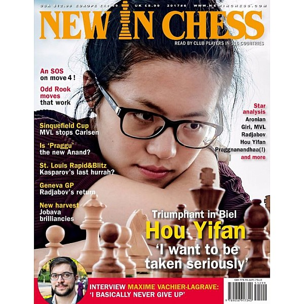 Περιοδικό New In Chess 2017/6: The Club Player's Magazine