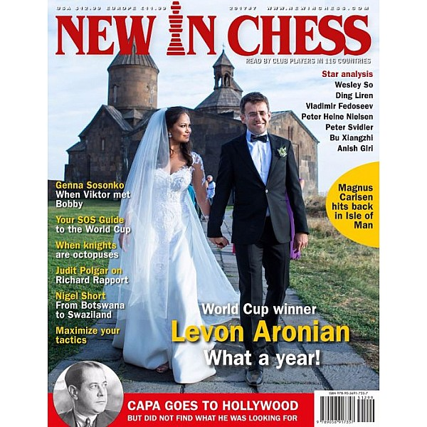 Περιοδικό New In Chess 2017/7: The Club Player's Magazine