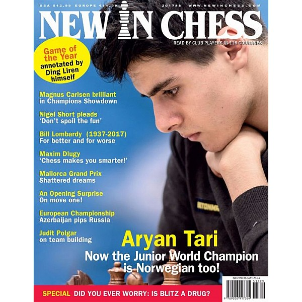 Περιοδικό New In Chess 2017/8: The Club Player's Magazine