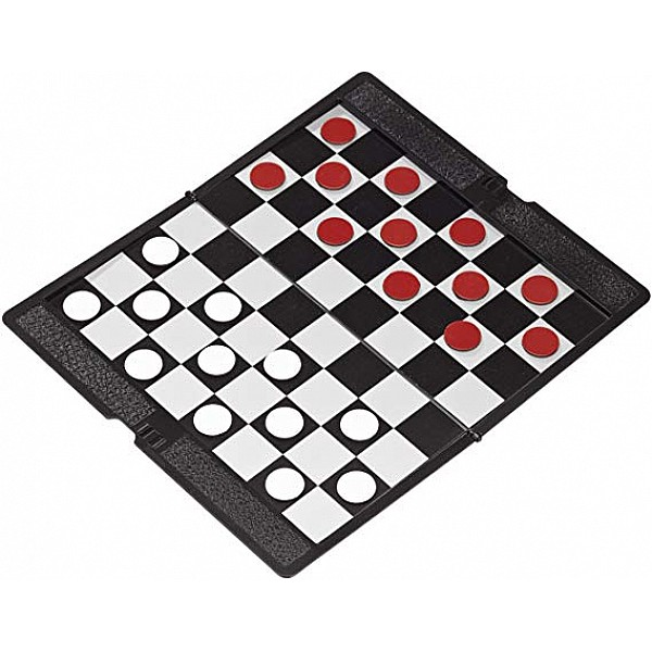 Μαγνητική σπαστή ντάμα σκακιέρα τσέπης