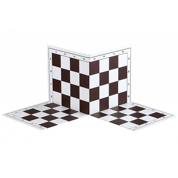 Σπαστή σκακιέρα στα τέσσερα  50 Χ 50 εκ. καφέ