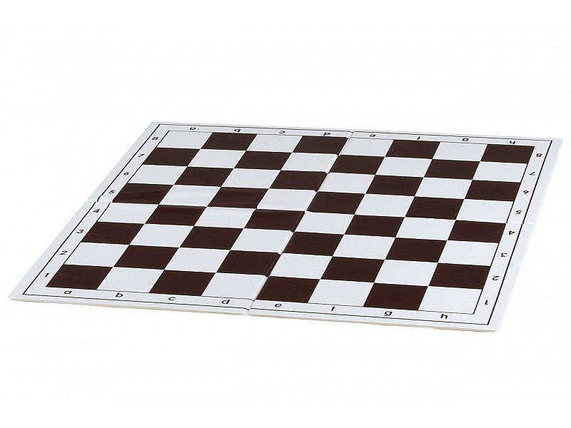 Σπαστή σκακιέρα στα τέσσερα  44 Χ 44 εκ. καφέ