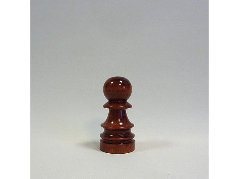 Διακοσμητικό σκάκι - Ξύλινος στρατιώτης (σκούρο χρώμα)