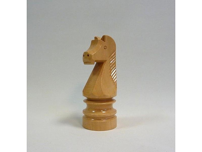Διακοσμητικό σκάκι - Ξύλινο άλογο (ανοιχτό χρώμα)