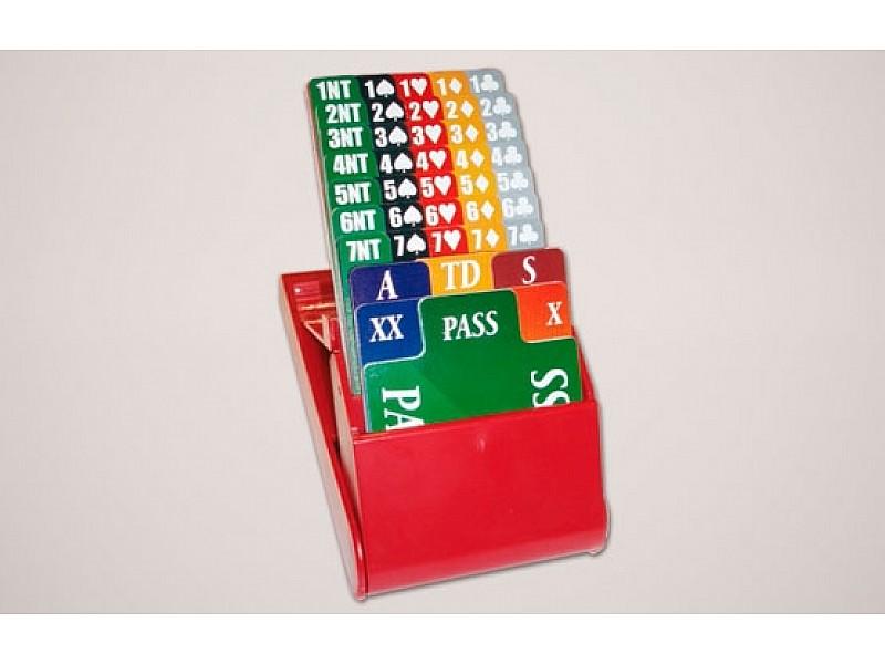 Κουτιά αγορών  -Bidding boxes Ι - (4 τεμάχια)