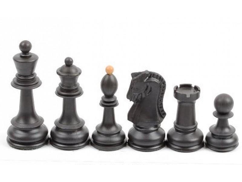 Πλαστικα πιόνια για σκάκι Dubrovnik - 'Υψος 9.1 εκ. & 2 πουγκιά αποθήκευσης