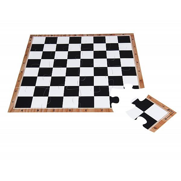 Σκακιέρα παζλ 16 τεμαχίων με διάσταση 40 Χ 40 εκ.