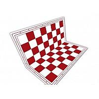 Σπαστή σκακιέρα 50 Χ 50 εκ. κόκκινη