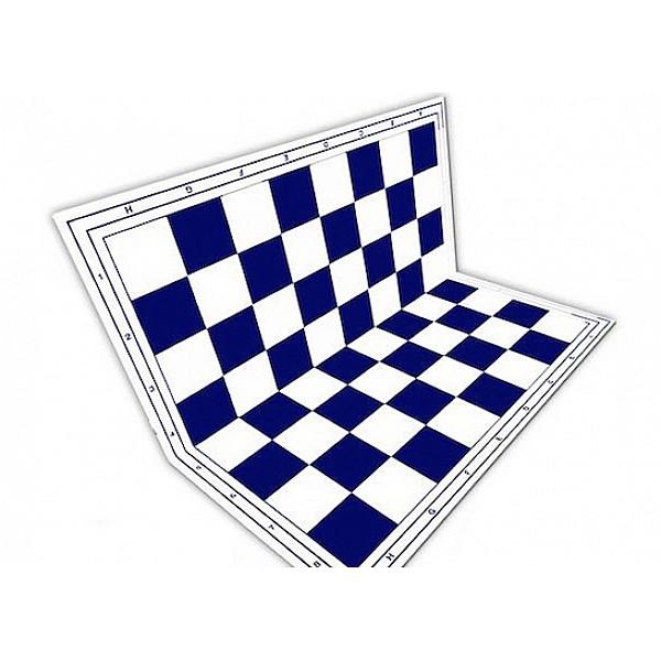 Σπαστή σκακιέρα 50 Χ 50 εκ. μπλέ