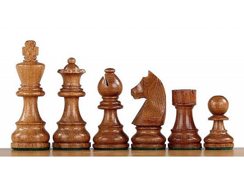 Σέτ πιόνια για σκάκι με βάρος German staunton Νο J44B (ύψος βασιλιά 9.5 εκ.)