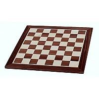 Σκακιέρα σε πλακέτα καρυδιά Giant deluxe  (59 X 59 εκ. - 6.4 εκ. καρέ)