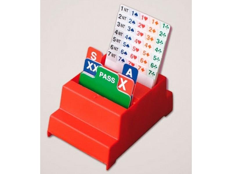 Κουτιά αγορών  -Bidding boxes - (4 τεμάχια)