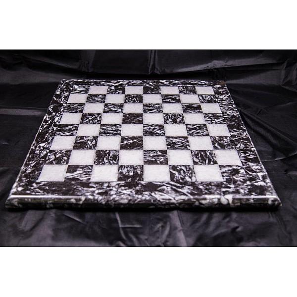 Λειβαδιάς & Assiana μαρμάρινη σκακιέρα  Διάσταση 40 X 40 εκ.