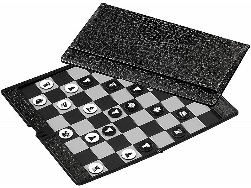 Μαγνητική σπαστή σκακιέρα τσέπης