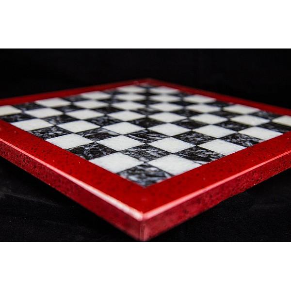 Assiana και Λειβαδιάς μαρμάρινη σκακιέρα  Διάσταση 40 X 40 εκ.