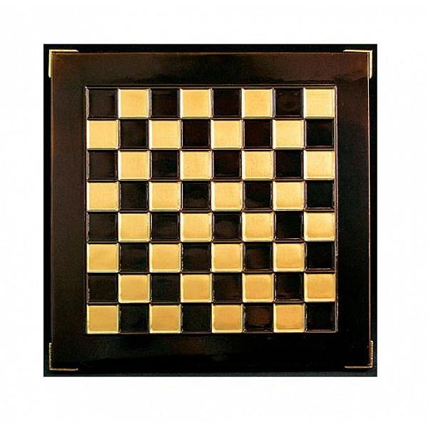 Μεταλλικη σκακιέρα, διάσταση 33 Χ 33 εκ.