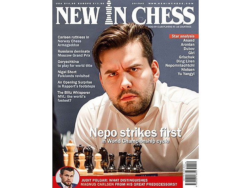 New In Chess 2019/5: The Club Player's Magazine