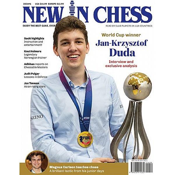 Περιοδικό New In Chess 2021/6: The Club Player's Magazine