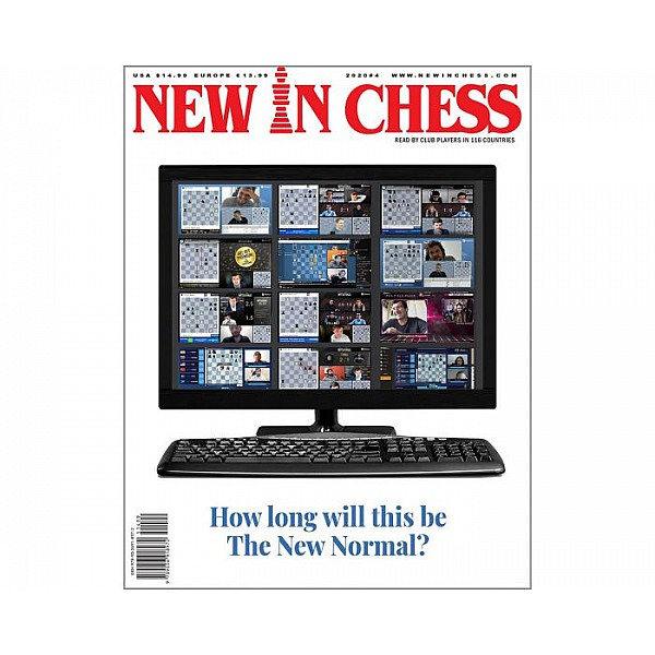 Περιοδικό New In Chess 2020/4: The Club Player's Magazine