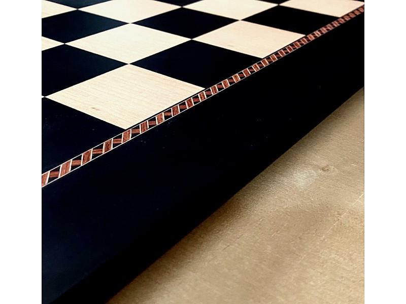 Σκακιέρα ξύλινα σε πλακέτα 50 Χ 50 εκ - Νο 2330