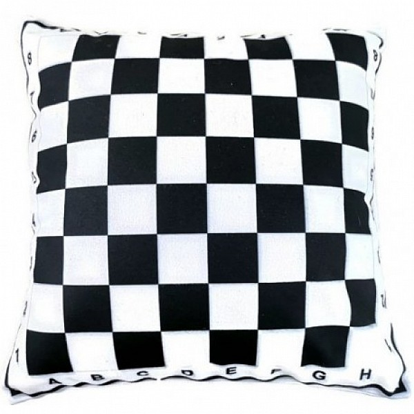 Μαξιλάρι με θέμα σκακιέρα