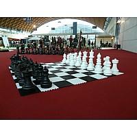 Σκακιέρα εξωτερικού χώρου -  δάπεδο για τα πιόνια σκάκι γίγας (σετ των 60 εκ.)