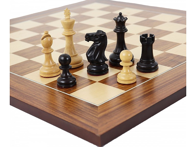 DGT Σκακιέρα ξύλινη καρυδιά πλακέτα  55 Χ 55 εκ.