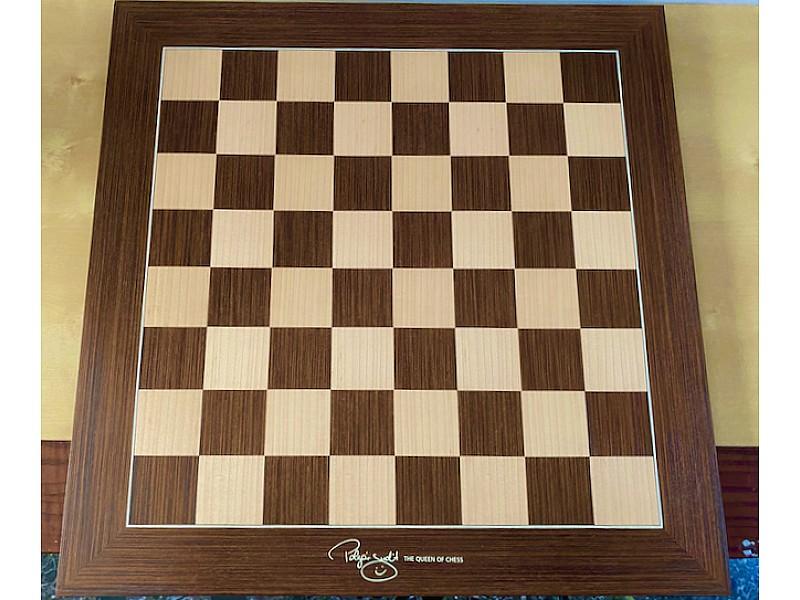 DGT Judit Polgar ξύλινη σκακιέρα