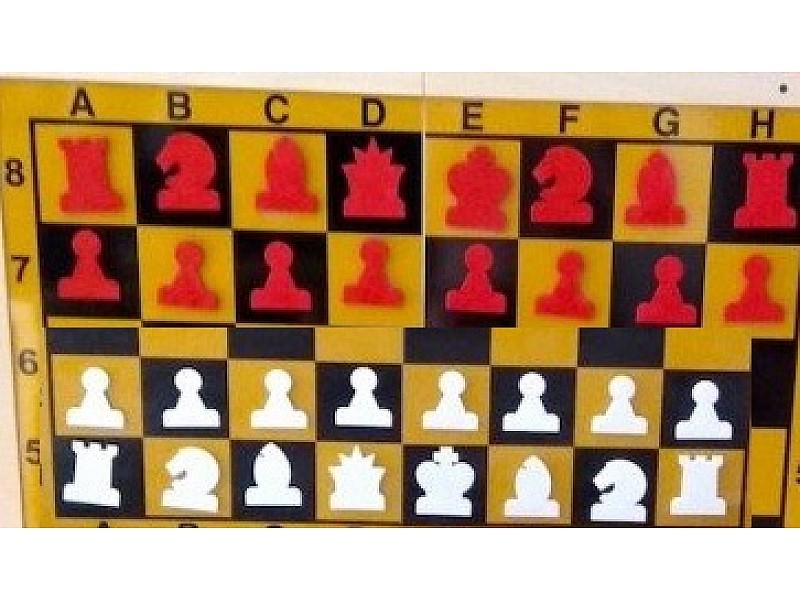 Ανταλλακτικά πιόνια για την γιγαντιαία εκπαιδευτική σκακιέρα