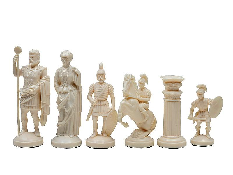Ρωμαικό σέτ πλαστικό με ύψος βασιλιά 9.5 εκ.
