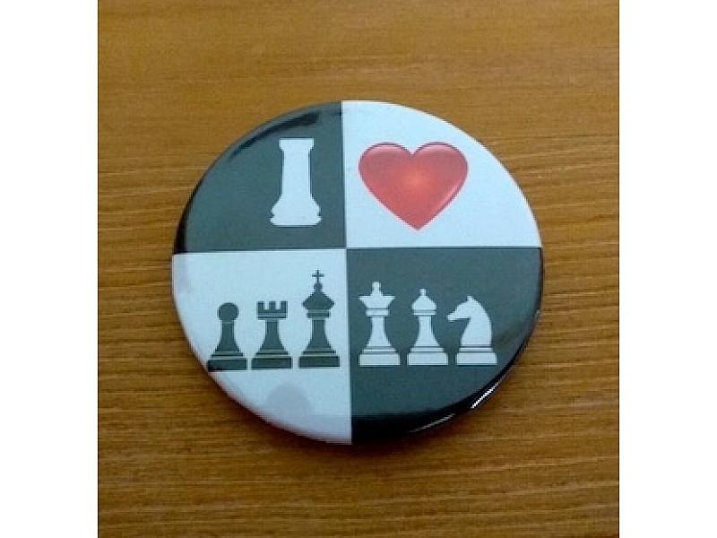 """Μαγνητικη τάπα με θέμα """"chess"""""""