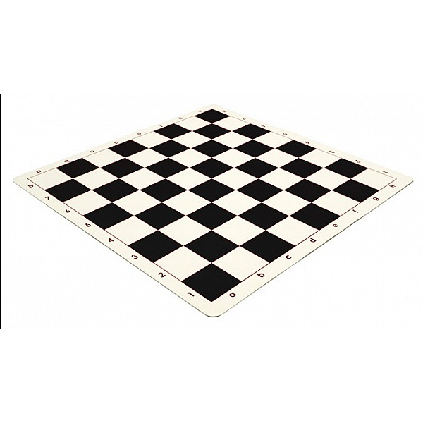 Σκακιέρα μαύρη σιλικόνης 50 Χ 50 εκ. , 5.7 εκ. τετράγωνο