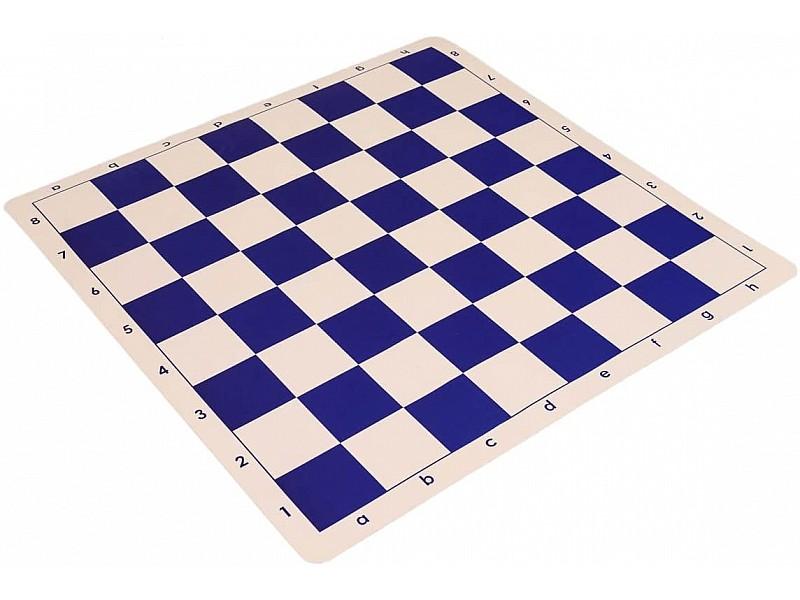 Σκακιέρα μπλέ σιλικόνης 50 Χ 50 εκ. , 5.7 εκ. τετράγωνο