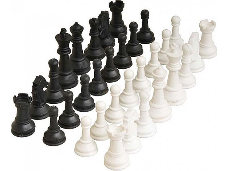 Πλαστικά πιόνια για σκάκι με ύψος βασιλιά 7 εκ.  (απλά)