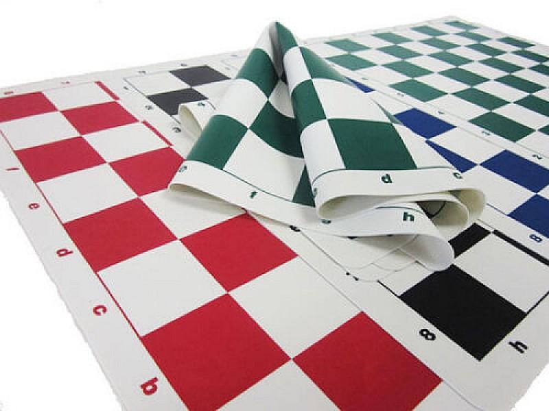Σκακιέρα καφέ σιλικόνης 50 Χ 50 εκ. , 5.7 εκ. τετράγωνο