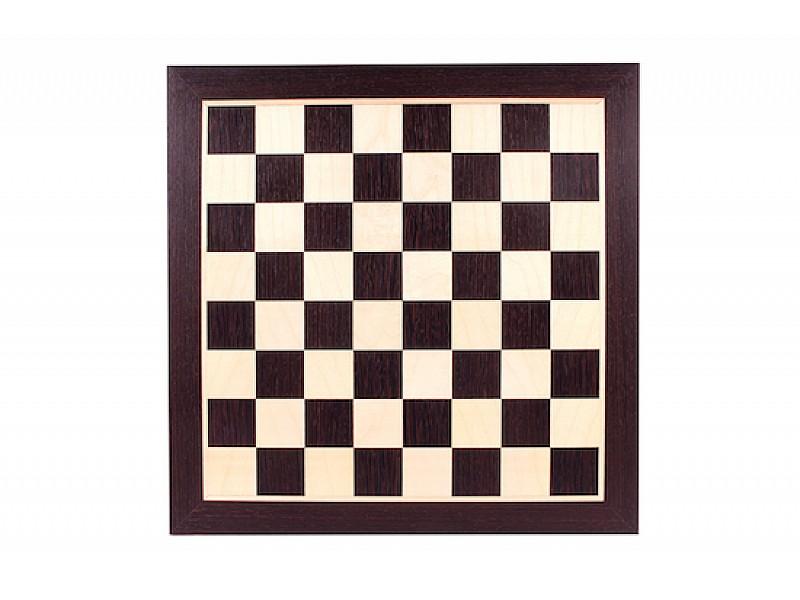 Σκακιέρα ξύλινη σε πλακέτα Βέγγε Giant deluxe  (60 X 60 εκ. - 6.4 εκ. καρέ)