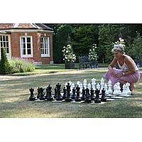 Σκάκι κήπου - Πιόνια σετ μέ ύψος Βασιλιά 30 εκ.