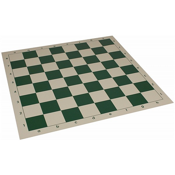 Σκακιέρα βινυλίου πράσινη  50X50 εκ.