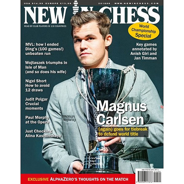 New In Chess 2018/8: The Club Player's Magazine