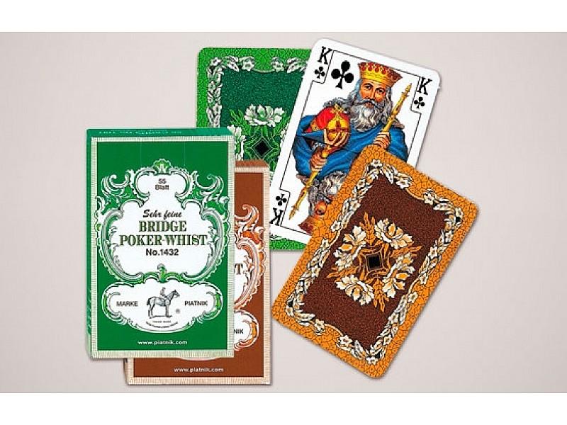 Τράπουλα μπρίτζ  Bridge - Poker - Whist  (2 σέτ τράπουλας)