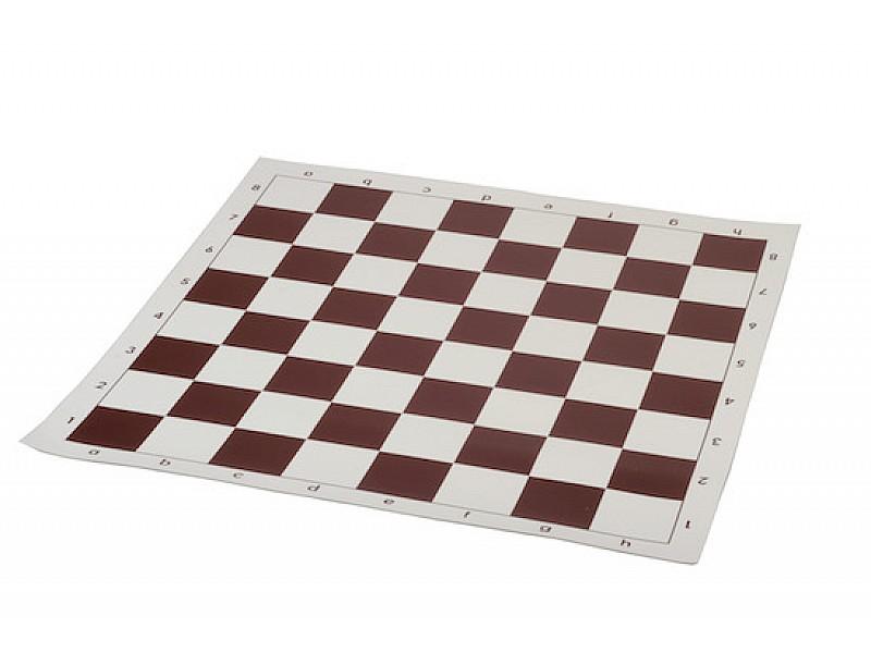 Σκάκι βινυλίου καφέ 50X50 εκ.
