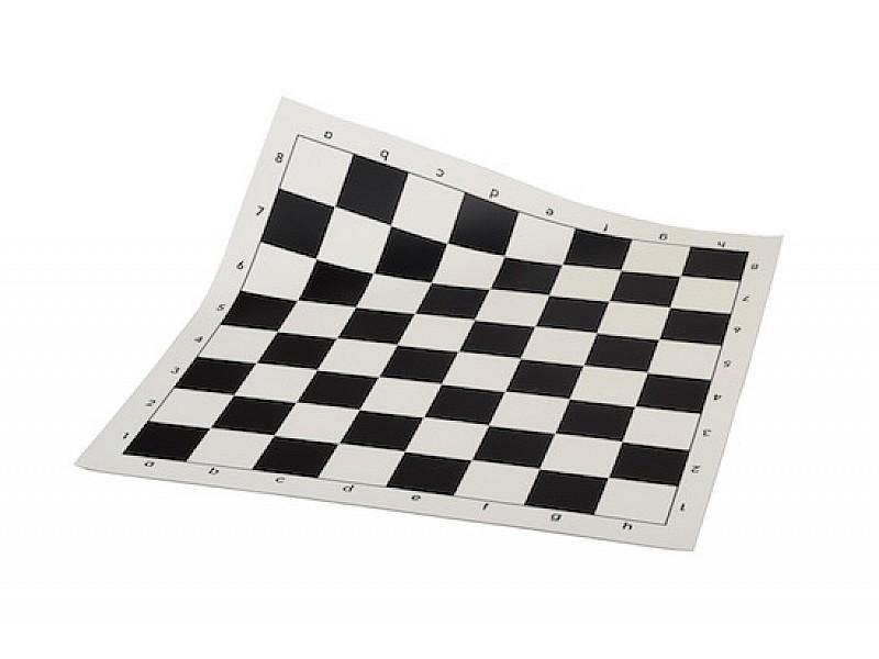 Σκάκι βινυλίου μαύρο 50X50 εκ.